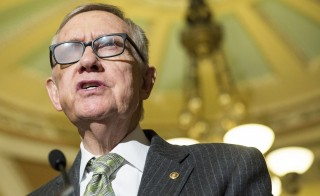 Senate Minority Leader Harry Reid announced he will not seek re-election in 2016. Photo by Joshua Roberts/Reuters