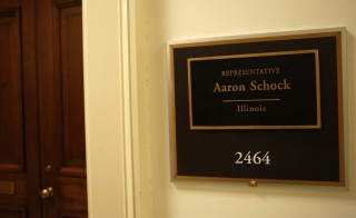 The office of Representative Aaron Schock (R-IL) is seen on Capitol Hill in Washington March 17, 2015. Photo by Yuri Gripas/Reuters