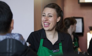 Welcome to Starbucks, David Ryder/Reuters
