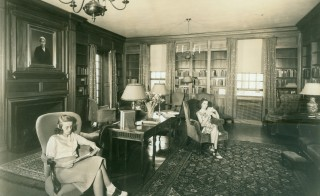 Sweet Briar College is an all women liberal arts college in Sweet Briar, Virginia founded in 1901. The school announced it would be closing at the end of this semester. Photo by Mary Helen Cochran Library circa 1940