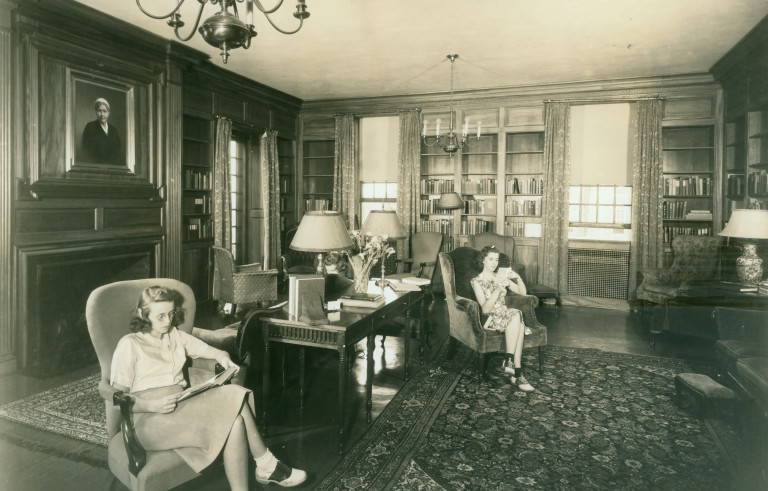 Sweet Briar College is an all women liberal arts college in Sweet Briar, Virginia founded in 1901. The school announced it would be closing at the end of this semester. Photo by Mary Helen Cochran Library circa 1094