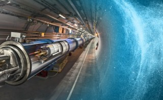 Illustration of improved Large Hadron Collider in preparation for its second season. Illustration by Daniel Dominguez, Maximilien Brice and Cinzia De Melis/CERN