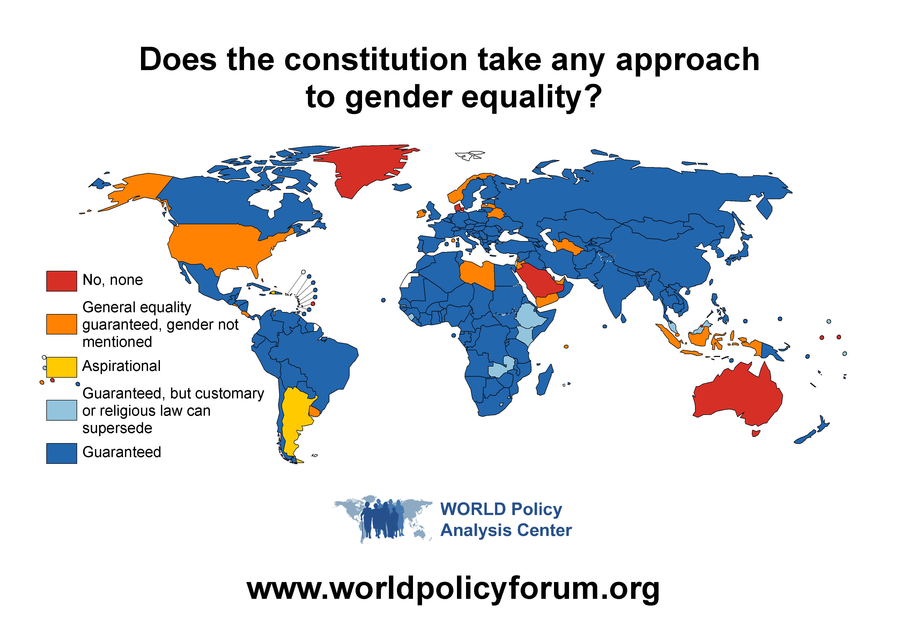 Marriage Equality World Map - Marcpous