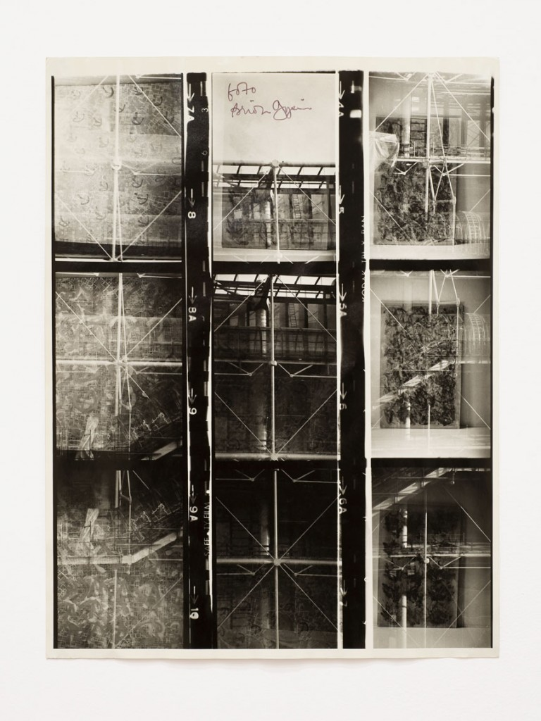 Brion Gysin, The Last Museum, 1974. Photo-montage, 15 3/4 x 12 in (40 x 30.6 cm). Galerie de France, Paris