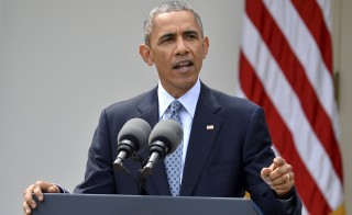 President Barack Obama may be able to ease the sanctions Iran faces regardless of whether or not Congress cooperates with him, the Associated Press reported. REUTERS/Mike Theiler