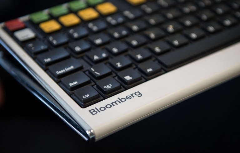 The Bloomberg Professional Service gives users access to a widely-used instant trading and information platform. Photo by Getty Images
