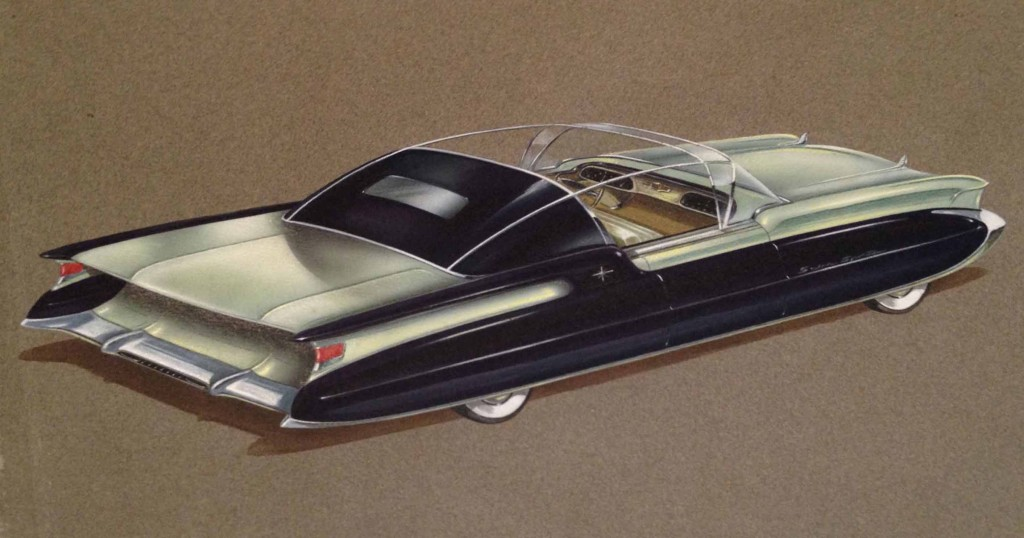 Photos: Auto sketches from Detroit\'s golden era you were never meant ...