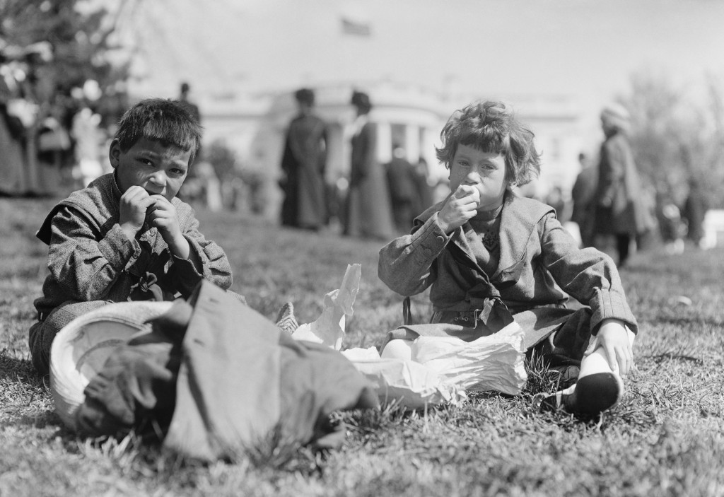 Boys at the White House Easter egg roll, 1911 (Photo credit: Library of Congress)
