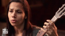 "Rhiannon Giddens performs ""Julie."""
