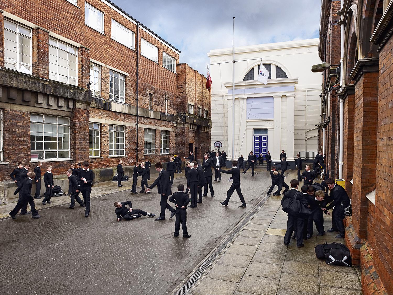 Hull Trinity House School, Hull, United Kingdom. Photo by James Mollison