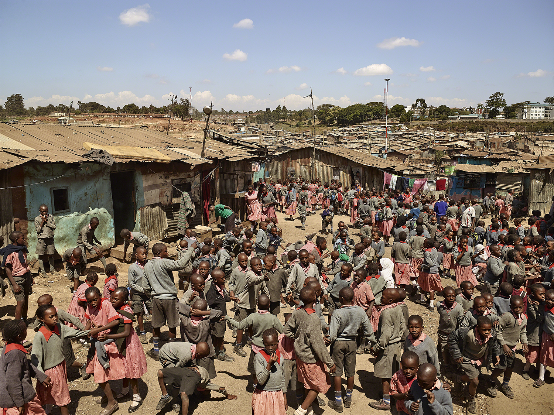 Valley View School, Mathare, Nairobi, Kenya. Photo by James Mollison.