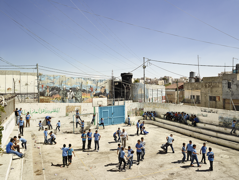 Aida Boys School, Bethlehem, West Bank. Photo by James Mollison