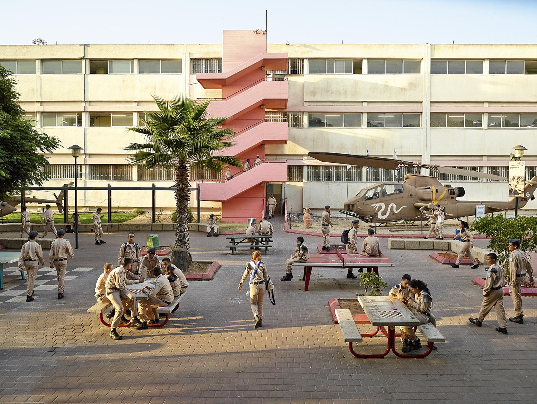 Holtz High School, Tel Aviv, Israel. Photo by James Mollison