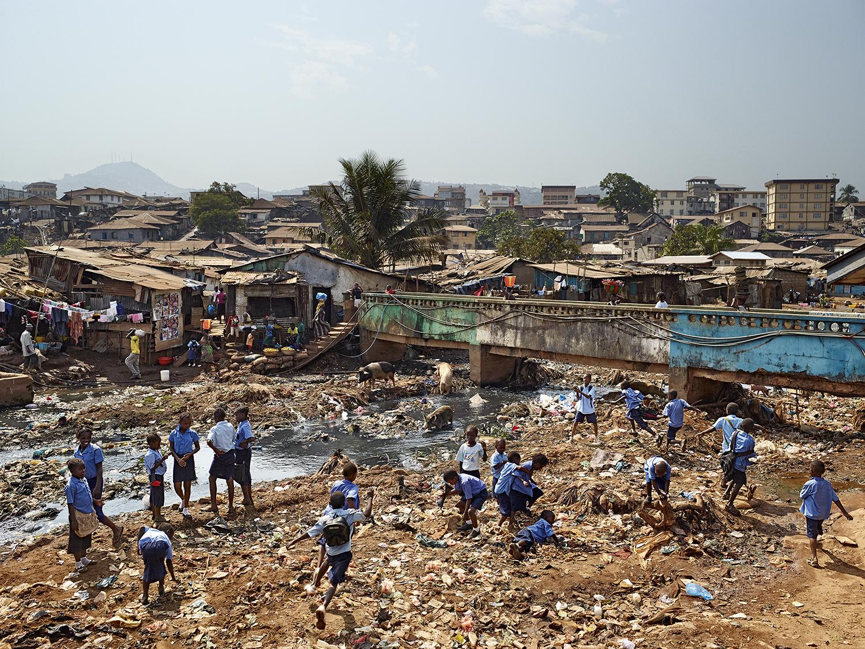 Kroo Bay Primary, Freetown, Sierra Leone. Photo by James Mollison