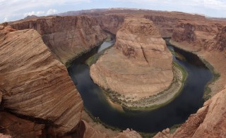View of Grand Canyon Horse shoe bend near Page, Arizona on Aug. 14, 2012. Grand Canyon is one of the national parks that will be affected by this year's proposed fee increases. Photo by Charles Platiau/Reuters