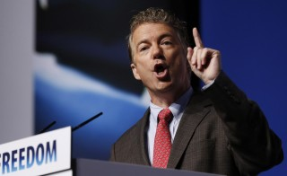 "U.S. Senator Rand Paul (R-KY) speaks during the second day of the 5th annual Faith & Freedom Coalition's ""Road to Majority"" Policy Conference in Washington last June. Photo by Larry Downing/Reuters"