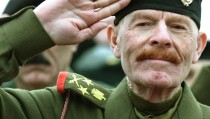 File photo of Iraq's Vice-Chairman of the Revolution Command Council, Izzat Ibrahim al-Douri, at a celebration at the Unknown Soldier Monument in Baghdad on Jan. 6, 2002. Photo by Faleh Kheiber/Reuters