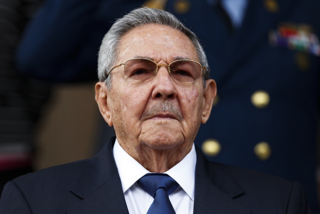 Cuba's President Raul Castro, seen here at a summit in Caracas in March, Photo by Carlos Garcia Rawlins/Reuters