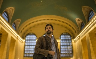 Australian freelance photojournalist Daniel Berehulak poses for a portrait in Grand Central Terminal in Midtown, New York on April 20. Berehulak was awarded the 2015 Pulitzer Prize for Feature Photography for The New York Times on Monday for his coverage of the Ebola crisis in Africa. Photo by Adrees Latif/Reuters