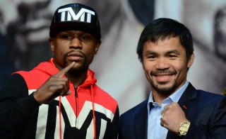 Before you place an online wager on Saturday's fight between Floyd Mayweather and Manny Pacquiao, you better know who's running the site. Joe Camporeale/USA TODAY Sports via Reuters