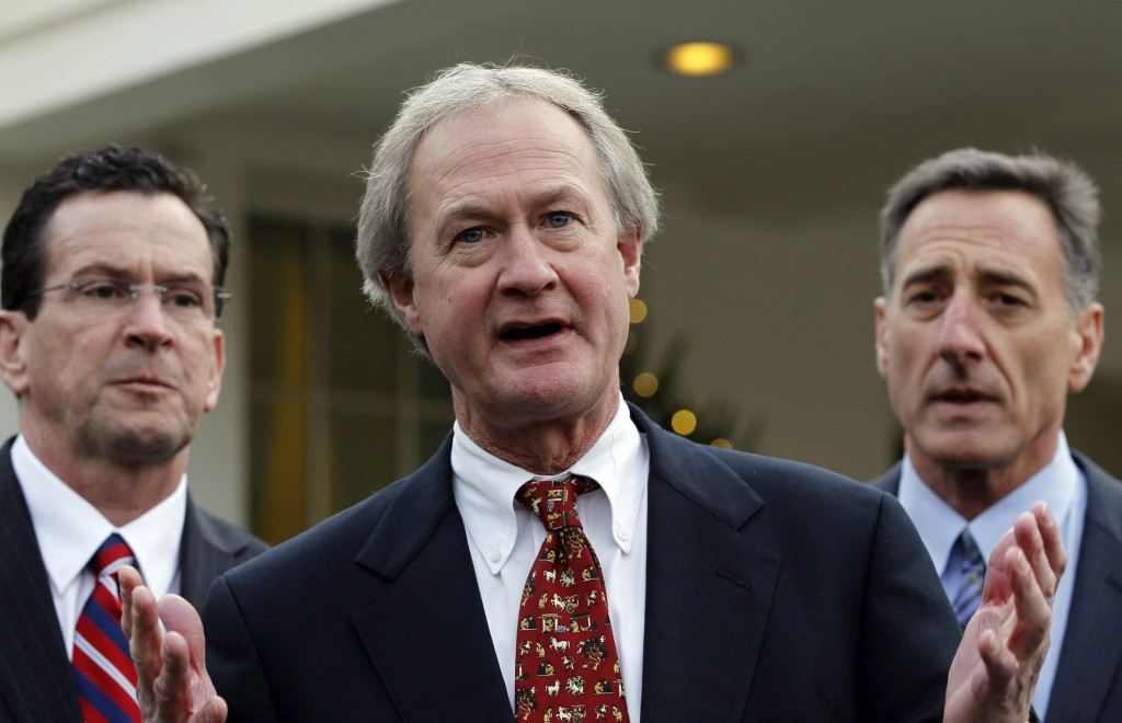 Former rhode island governor lincoln chafee is expected to announce