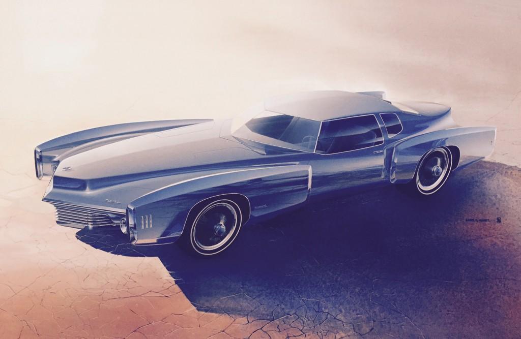 """Roger Hughet, Oldsmobile Toronado 1968. Roger Hughet grew up a """"Hot-Rodder"""" in the small town of Burns, Oregon, pop. 3,000."""