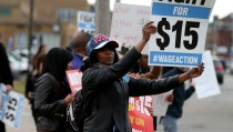 Local McDonald's Workers Denounce Corporate Pay Raise
