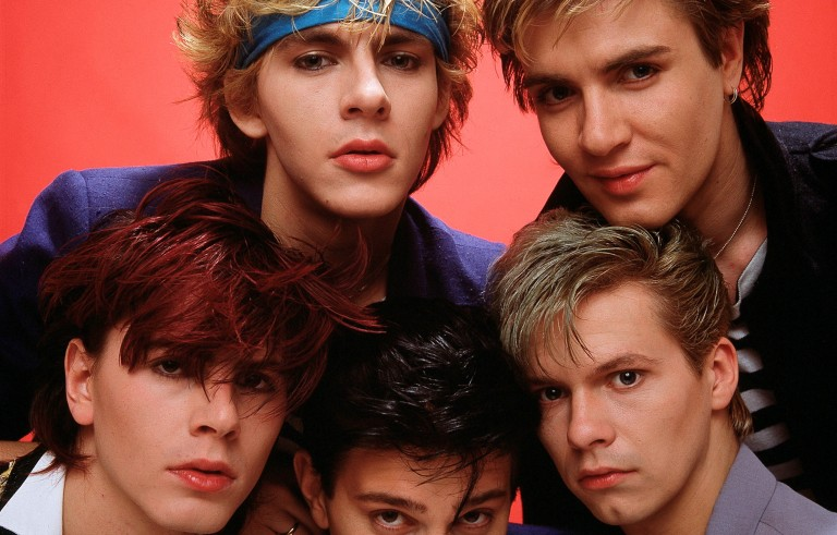 Computer analysis says new wavers like Duran Duran (pictured here), arena rockers like Van Halen and dance pop stars like Madonna marked a period of low diversity in popular music. Photo by Michael Putland/Getty Images