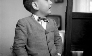 6th February 1956: Four-year-old Italian child prodigy Gigino Solana, who possesses an amazing memory and a working knowledge of the sciences. (Photo by Enzo Graffeo/BIPs/Getty Images)