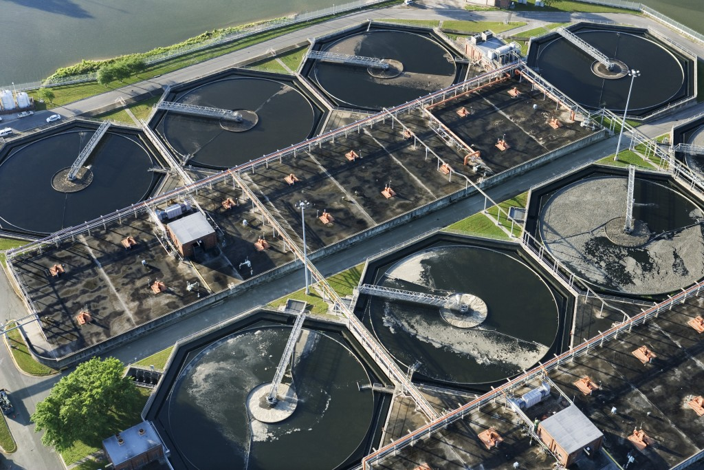 Human-generated chemicals are increasing in the environment and in wastewater at treatment facilities (pictured), researchers say. Photo by Jupiterimages/Getty Images