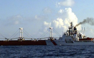 The migrants were among about 96 Cubans who were intercepted at sea and taken aboard the Coast Guard cutter Vigilant, a 210-foot ship operating out of Port Canaveral, Florida. The ship typically carries 75 officers and crew. The Cuban government allowed the return of the other 58 people.