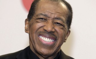 Singer Ben E. King died Thursday at age 76. King is seen here in November, 2010. REUTERS/Steve Marcus