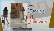 SEEING IS BELIEVING monitor intangible art