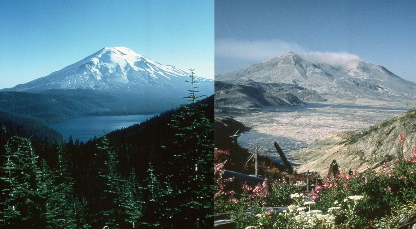 Image result for the eruption of mt st helens 1980