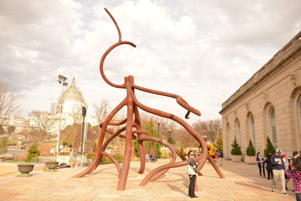 """Cathedral Root"" -- a sculpture by Steve Tobin. Photo by Devin Dotson"