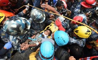 Farifax County emergency personnel - Kathmandu, Nepal
