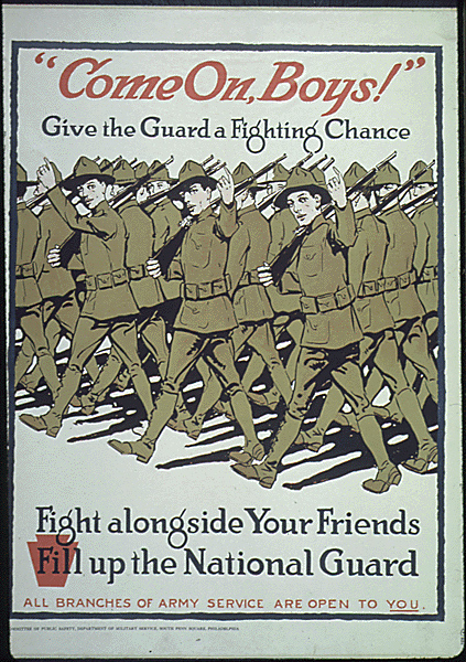 National Guard poster