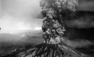On May 18, 1980 Mount St. Helens erupted, leaving a 200-sq. mile path of destruction. Fifty-seven people died and forests that had been built up over centuries were leveled in an instant. landscape permanently. This year marks the 35th anniversary. Credit: File image courtesy of USGS.