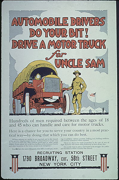 Truck poster