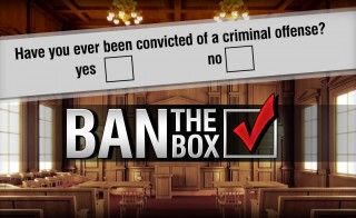 BAN THE BOX MONITOR criminal record for employment