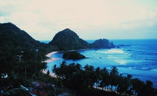 Coastline of American Samoa. Photo courtesy of NOAA.