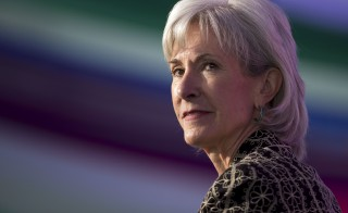 Kathleen Sebelius speaks during a business of health conversation with at the Aspen Institute last year. Today, also in Aspen, Colorado, the former Health and Human Services Secretary lauded the Supreme Court's decision to continue subsidies for President Barack Obama's signature health law. Photo by Leigh Vogel/Getty Images