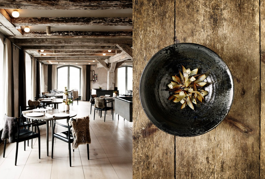 Noma in copenhagen denmark was named the no 3 restaurant in the world