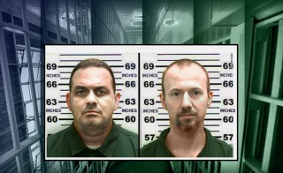 PRISON BREAK monitor clinton correctional facility richard matt david sweat