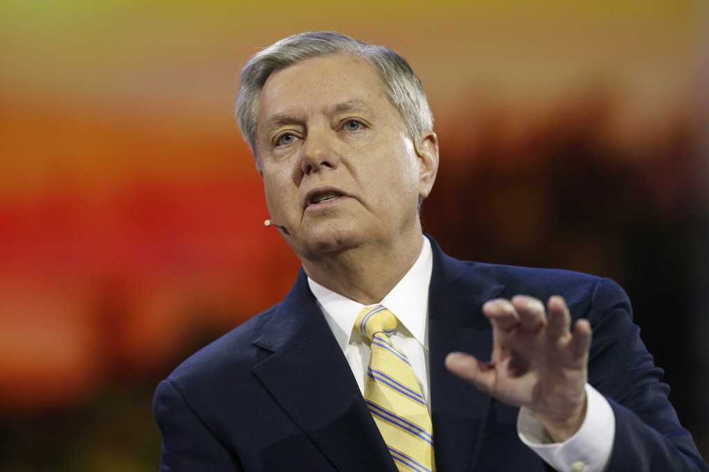 Sen. Lindsey Graham is expected to announce his 2016 bid for the White House today. Photo by Jonathan Ernst/Reuters