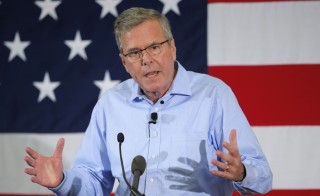 "Former Florida Governor Jeb Bush called the prospect of a registry of Muslims in the U.S. ""abhorrent."" Photo by Brian Snyder/Reuters"