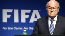 FIFA President Sepp Blatter resigned as FIFA president on Tuesday, four days after being re-elected to a fifth term. Blatter, 79, announced the decision at a news conference in Zurich, six days after the FBI raided a hotel in the city and arrested several FIFA officials. Photo by Ruben Sprich