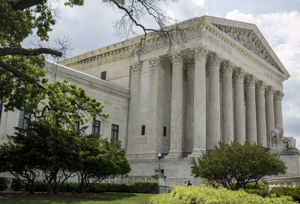 File photo of the Supreme Court in Washington, D.C., taken on May 18, 2015, by Joshua Roberts/Reuters