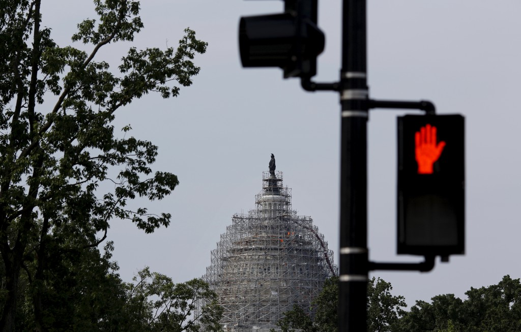 The House of Representatives passed a Republican-backed measure to stifle the flow of Syrian and Iraqi refugees, attracting enough votes to override President Barack's threat of a veto, the Associated Press reported Thursday. Photo by Carlos Barria/Reuters