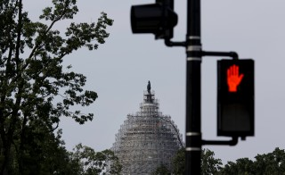 The Senate on Wednesday backed fast track trading authority for President Obama. Photo by Carlos Barria/Reuters